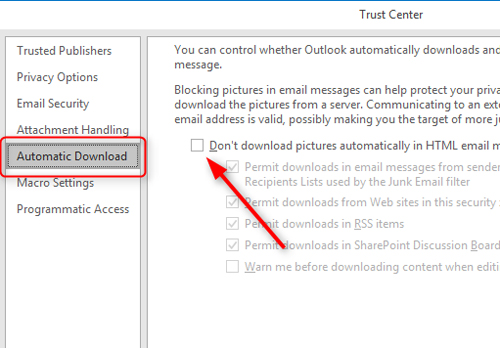 Why is Outlook not showing images in your emails? » MS ...