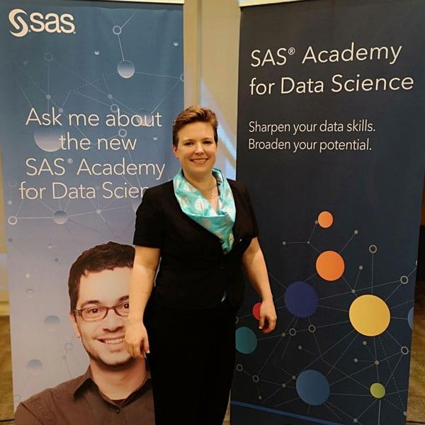 Catherine Truxillo, Directora de SAS Advanced Analytics Education.