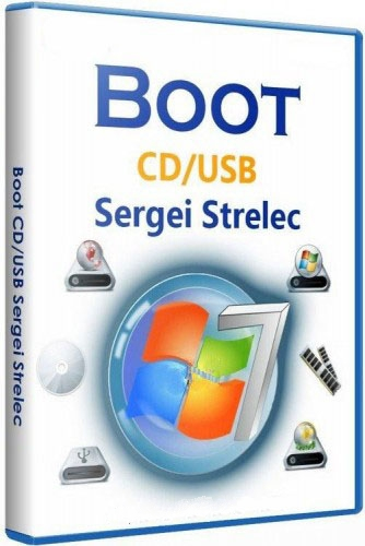 Boot CD/USB Sergei Strelec 2015 V8 4 Final (x86/x64) English