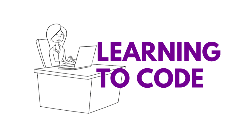 Learning to code is exciting and sometimes can be intimidating.