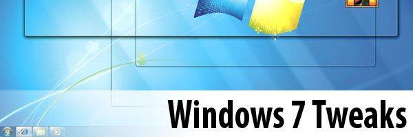 Windows-7-Tweaks