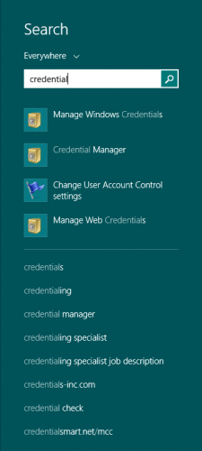 Windows 8 - Credentials (5)