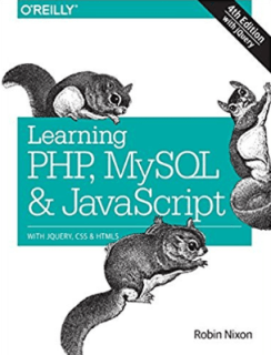 Learning PHP, MySQL and JavaScript
