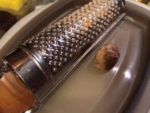 For every task, a tool - nutmeg grater