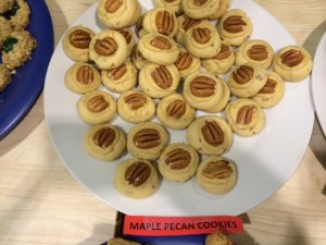 maple pecan cookies