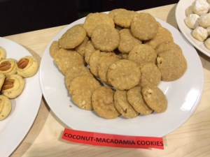 not flash but solid: coconut macadamia cookies