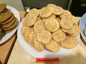 Christmas snickerdoodles