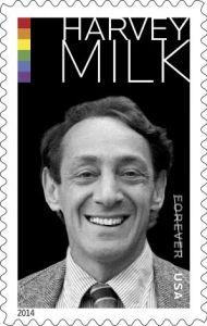 USPS Harvey Milk postage stamp