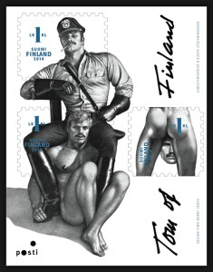 Homoerotic philately in Finland