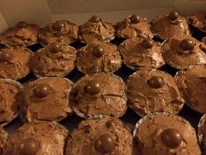 Maltesers cupcakes