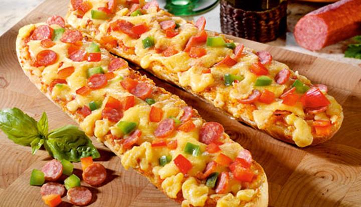Pizza na Baguete