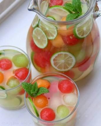 Frutas Congeladas para Água com Sabor