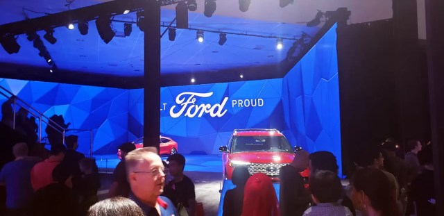 Ford's Involving 3 Wall Video Wall Made a Huge Impact