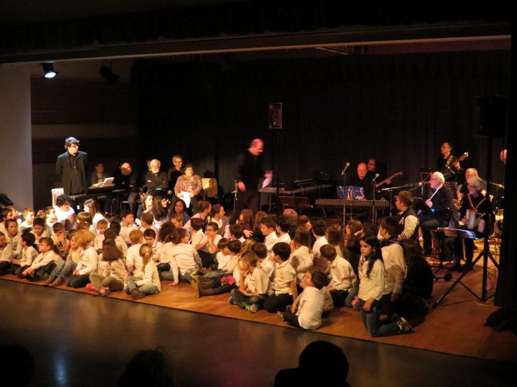 Restitution résidence Julien Joubert scolaires et big band