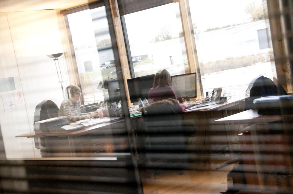 bureaux de c3rb, entreprise de conception graphique à lioujas