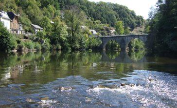 Entraygues - Rivière Lot