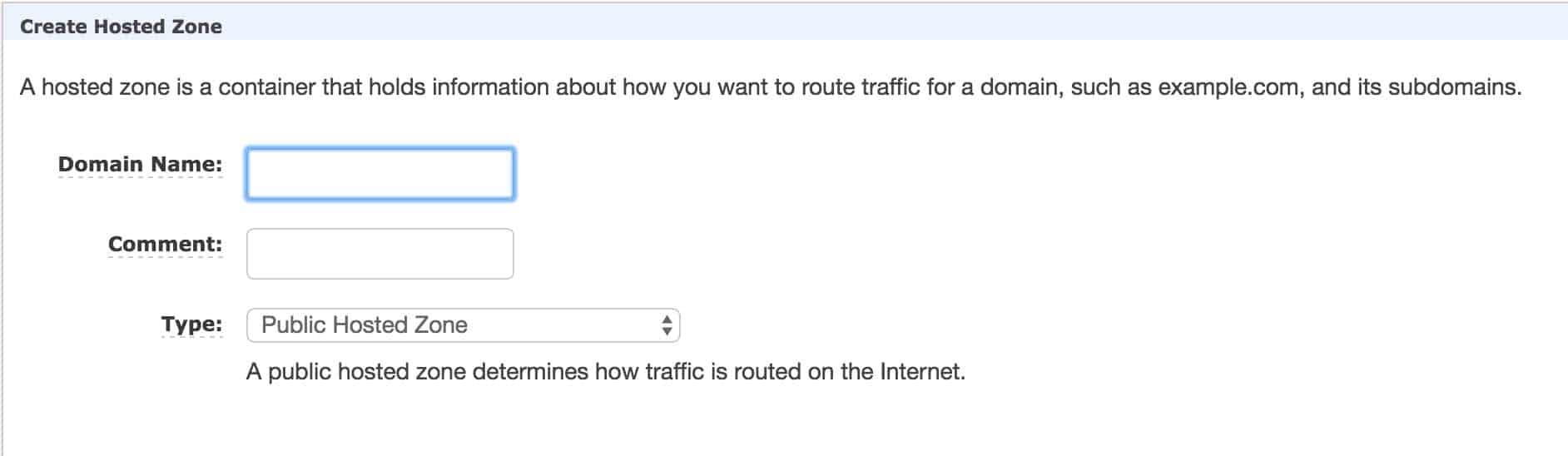hostedzone-domain-name
