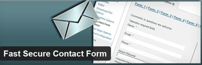 wordpress fast secure contact form