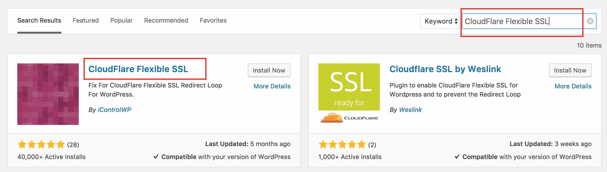 cloudfalre wordpress ssl plugin