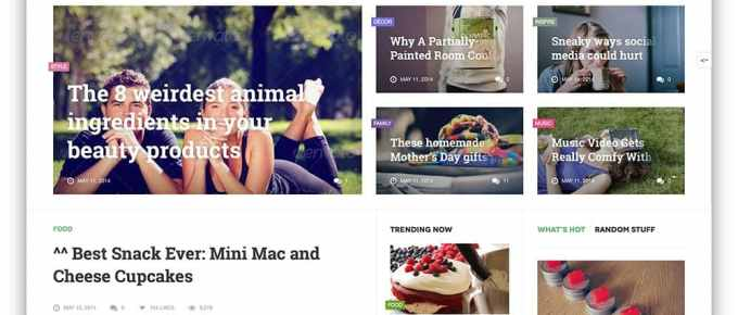 List of best Modern Tech Blog Wordpress Themes