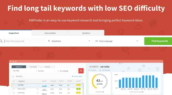 Honest Kwfinder Review : A Simple Keyword Research Tool
