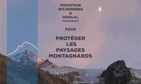 HOPALL-Tshirt-recycle-made-in-fabriqué-france-mountain-wilderness-sea-logo-classe-mountain-wilderness-france-partnership