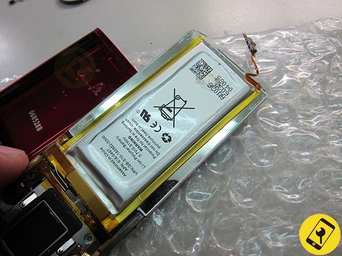 iPod nano 5 換電池