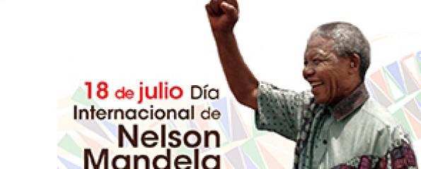 Resultado de imagen para Fotos Día Internacional de Nelson Mandela