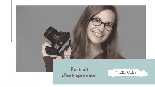 Portrait d'entrepreneur
