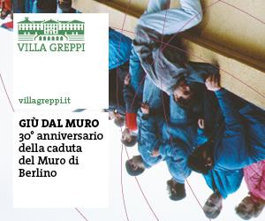 GIU' DAL MURO. 30° ANNIVERSARIO DELLA CADUTA DEL MURO DI BERLINO
