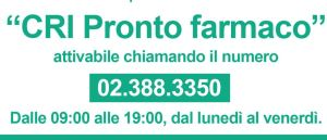 Croce Rossa Italiana – Pronto Farmaco