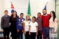 Release 467-2017 - Recepção aos alunos medalhistas na Obmep 3