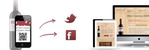 vino y redes sociales