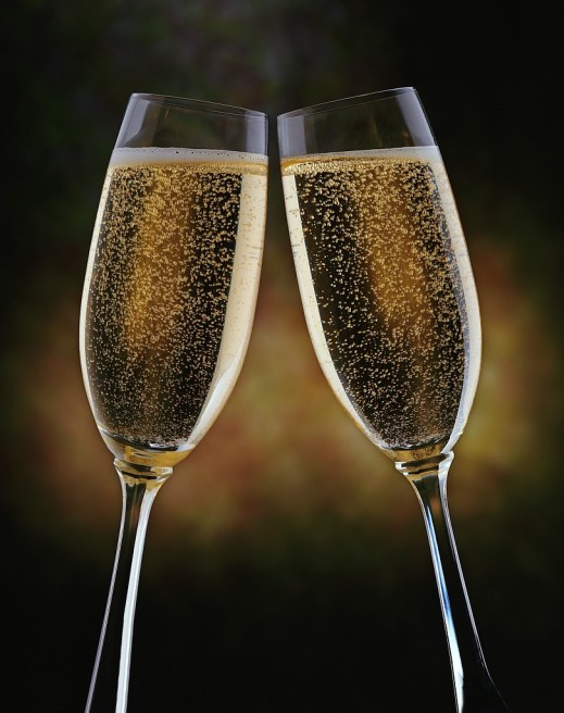 A Champagne Cheers!