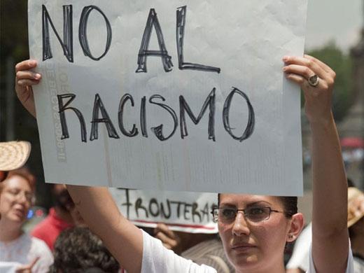 NO y no al racismo