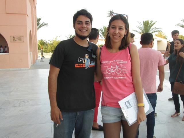 Con David Sainz en Alfaz del Pi