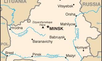Mappa-Bielorussia