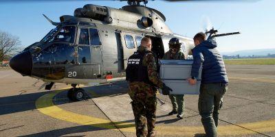 Svizzera elicottero esercito
