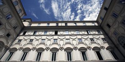 Palazzo Chigi cortile