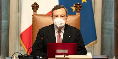 Presidente del Consiglio Mario Draghi