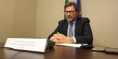 Mise ministro Giorgetti