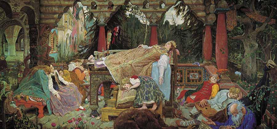 La Princesa durmiente de Víktor Vasnetsov