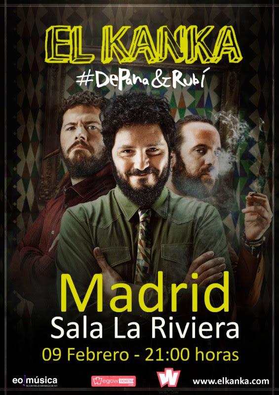 El Kanka llenará de Pana y Rubi La Riviera de Madrid