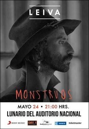 Primer concierto de Leiva en México