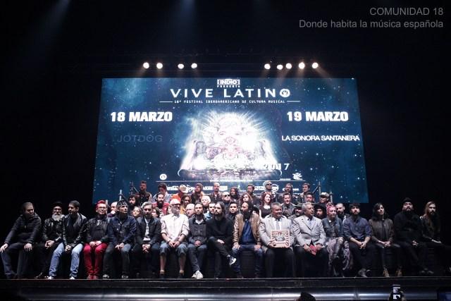 Escenarios, horarios y días de los españoles en Vive Latino 2017