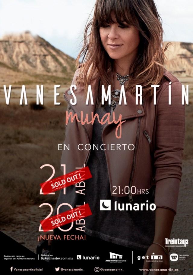 Vanesa Martín confirma concierto en el Teatro Metropólitan