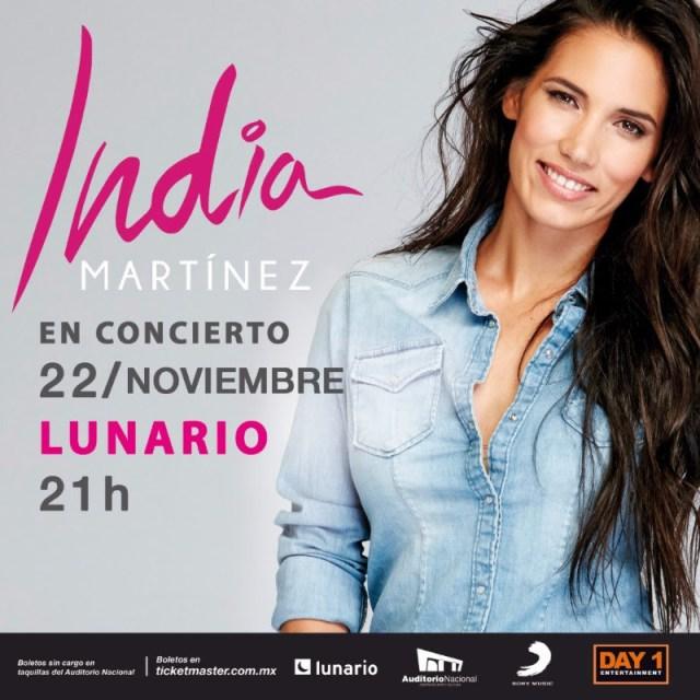 India Martínez llega a la Ciudad de México con «Te cuento un secreto»