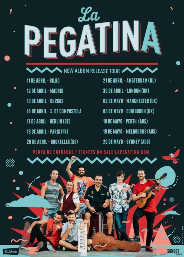 La Pegatina anuncia nuevo disco y las fechas de la gira presentación en 2018