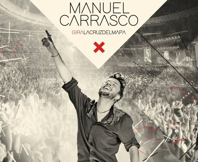 Manuel Carrasco pone la Cruz del Mapa en Ciudad de México