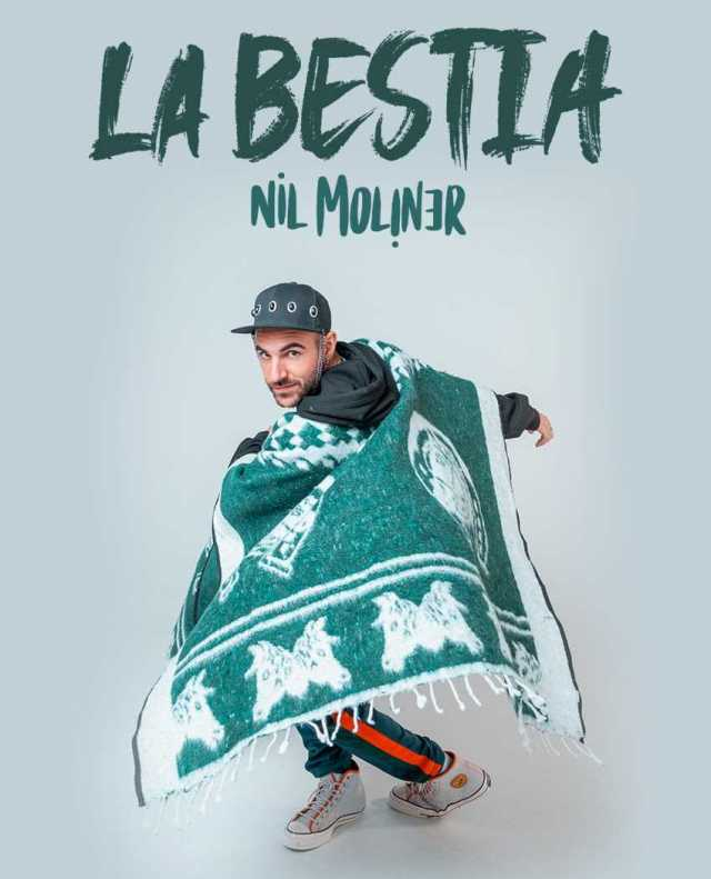 NIL MOLINER lanza su nuevo single LA BESTIA